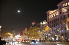 Gran Via, Madrid, Spain.
