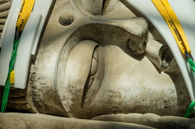 Eternity Buddah in Nirvana by Xu Zhen