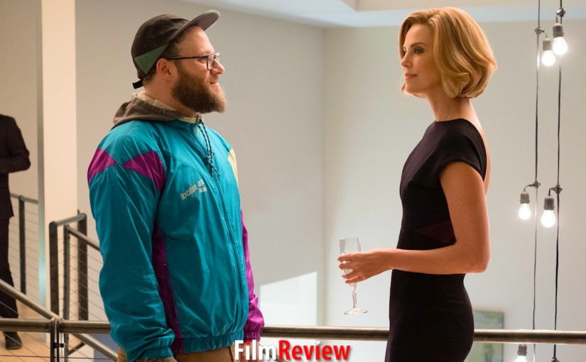 Charlize and Seth: an unbelievable rightchemistry